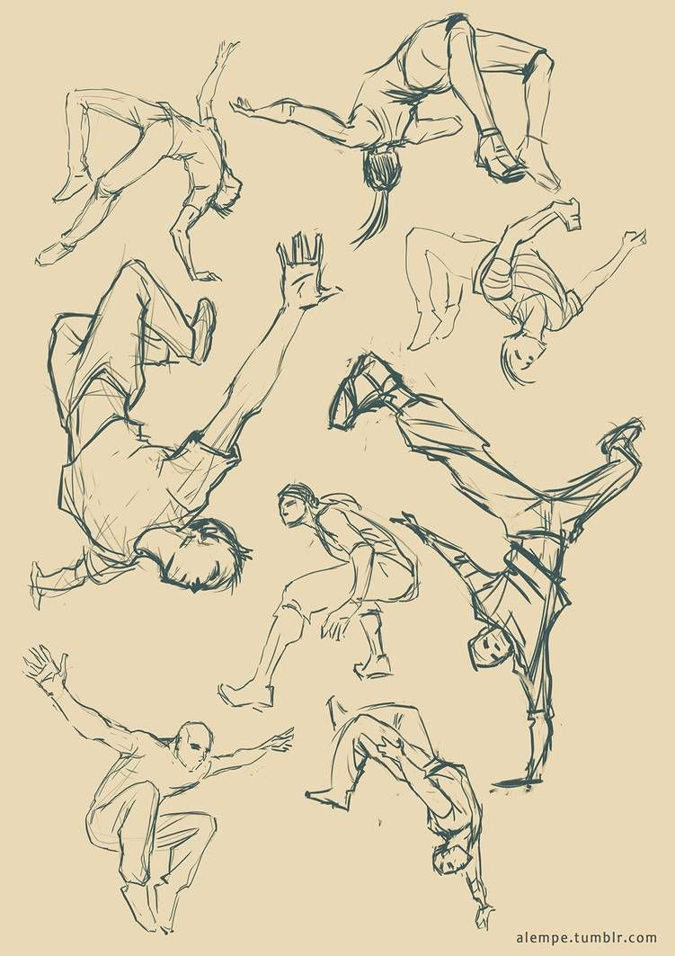Action Poses By Alempe Art Reference Poses Anime Poses Reference Art Poses