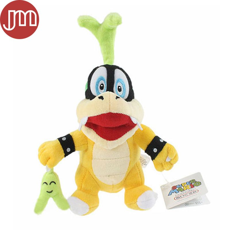 """Find More Movies & TV Information about New 1 PCS Super Mario Bros Iggy Koopa With Green Grass Pupazzo Plush Toy With Tag Stuffed Animal Doll Approx 6.7"""" Free Tracking,High Quality toy inflator,China toy dolls music Suppliers, Cheap toy chair from M&J Toys Global Trading Co.,Ltd on Aliexpress.com"""