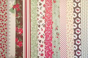 Holly Berry Bouquet DSP Coordinating colors include Cherry