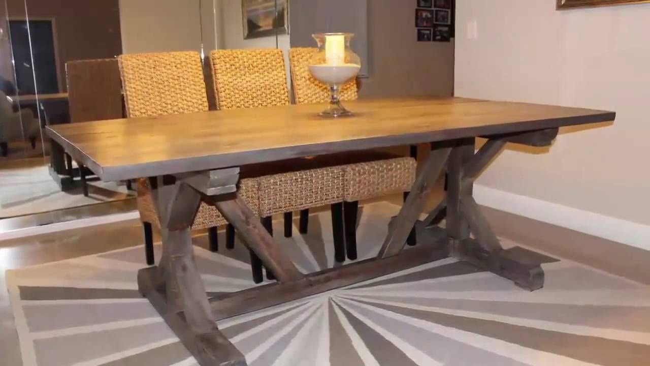 Expandable Kitchen Table Plans Farmhouse Dining Room Table