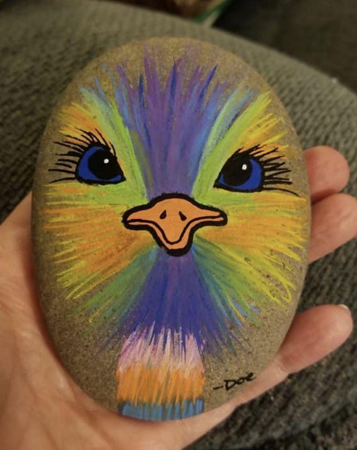√ 50 besten Rock Painting-Ideen, Waffe, um Ihre la
