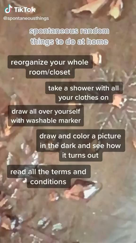 Pin By Ella On B O R E D Video In 2020 Boredom Cure Things To Do When Bored Things To Do At Home