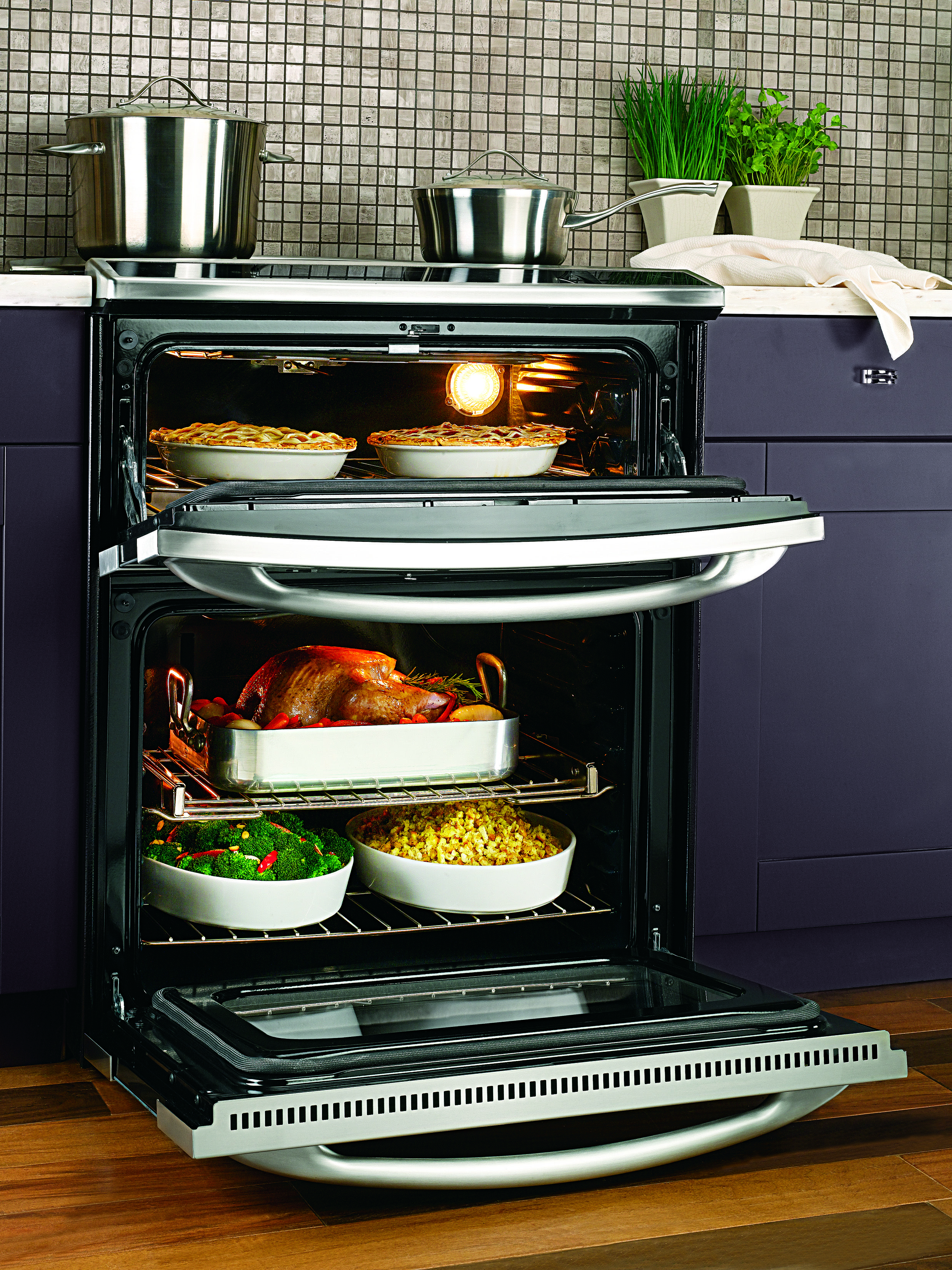 Our Slide In Electric Double Oven Model Ps978stss Includes Self