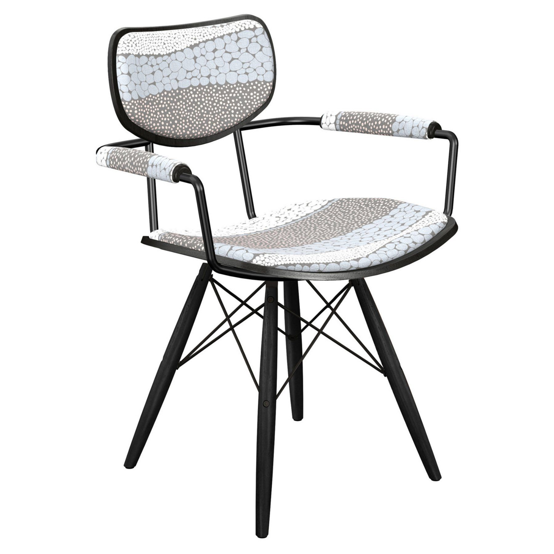 Nyekoncept Harvey Cloudy Trails Dowel Arm Chair  16007902