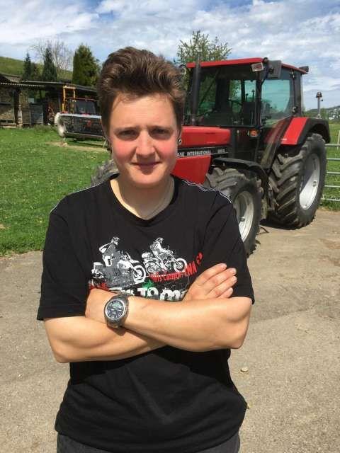 «Nachbarsbauern sagten, es gebe Fahrende, die klauen.» Bäuerin Sandra Lischer (28).