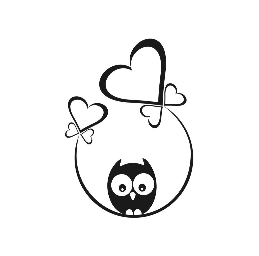 uiltjes op schommel 09 eenvoudige tekeningen krabbel