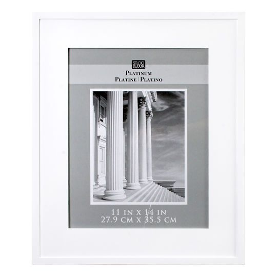White Hampton Frame Home Collection By Studio Decor