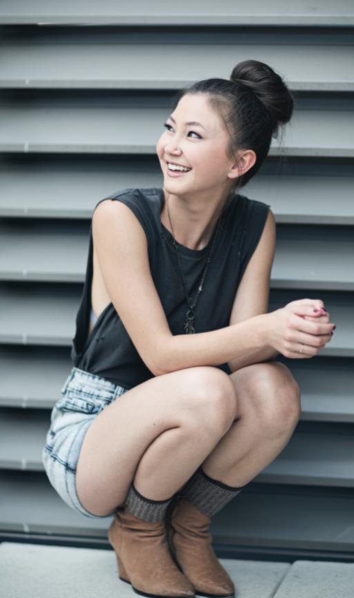 """Kimiko Glenn, The """"Orange is the New Black"""" actress"""