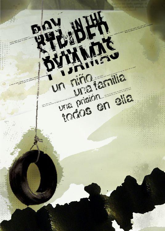 El Nino De Pijama A Rayas Afiche Poster Disenos De Unas Poster Afiches