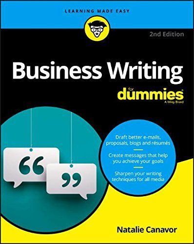 business writing for dummies 2nd edition pdf download for free