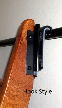 Steel Library Ladder Rolling Or Hook Style Hardware And 10ft Track Met Afbeeldingen De Zolder Zoldertrap Interieur Ontwerpen