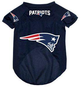 detailed look baba3 5a89f Amazon.com : New England Patriots Pet Dog Football Jersey ...