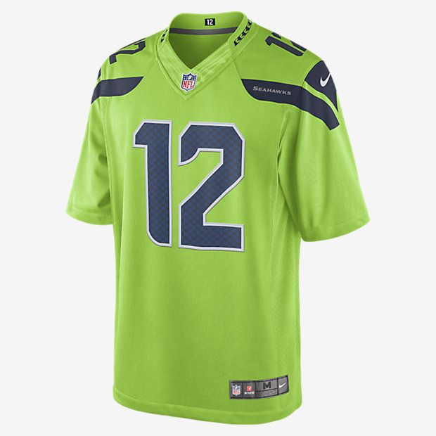 e8e62c81e5a NFL Seattle Seahawks Color Rush Limited Jersey (Fan) Men s Football Jersey