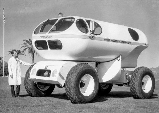 1966 Mobile Geological Lab With Images Strange Cars Vehicles