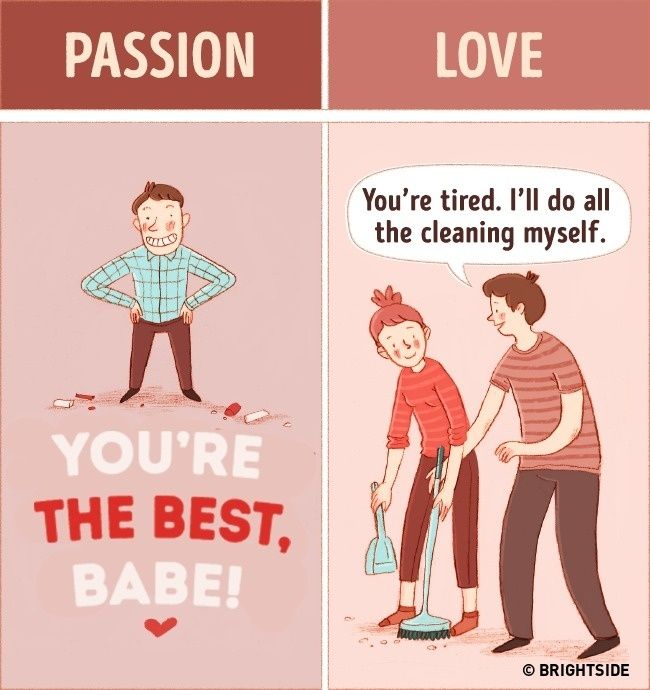f561f9970585d5045801828875eb3511 15 illustrations depicting the difference between real love and