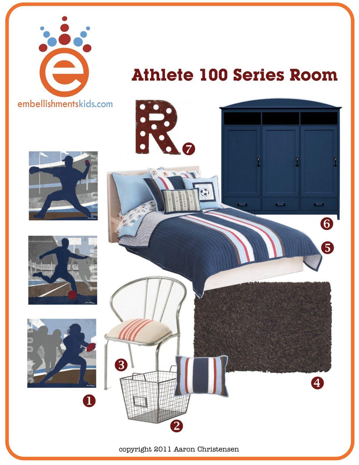 Sports room ideas sport theme room room decor ideas by aaron