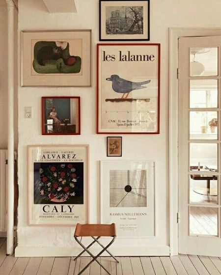 Outstanding Gallery Wall Decor Ideas10 Gallery Wall Decor Gallery Wall Decor