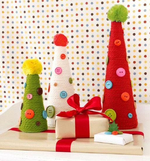 bonitos adornos de navidad para hacer con los peques