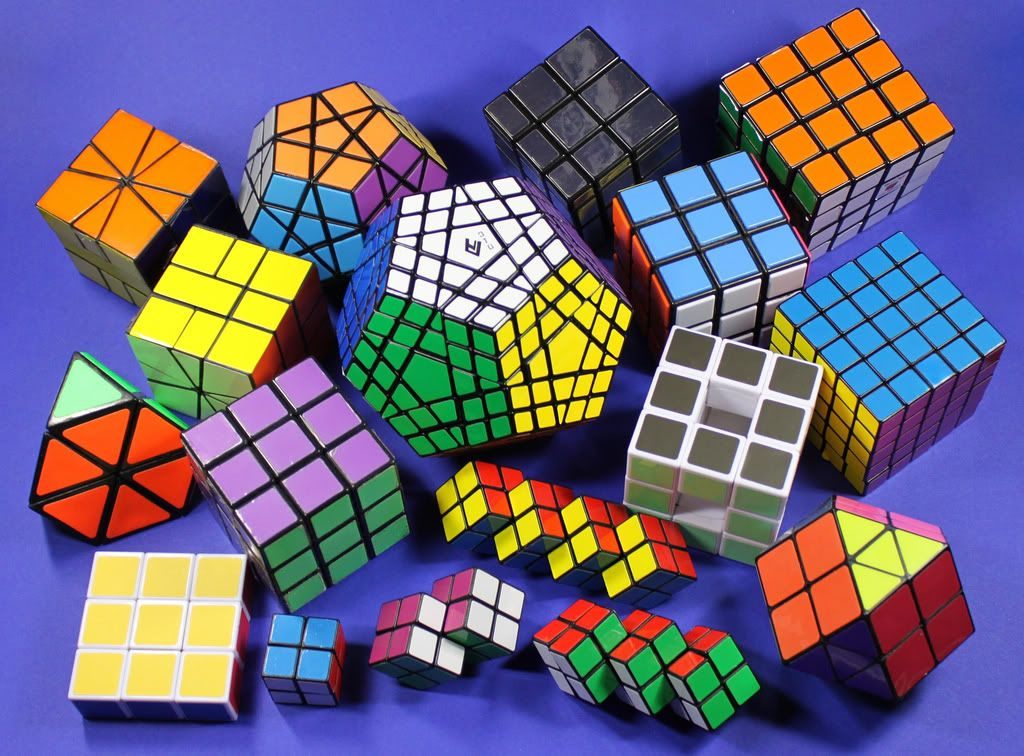 Image result for different rubik's cubes