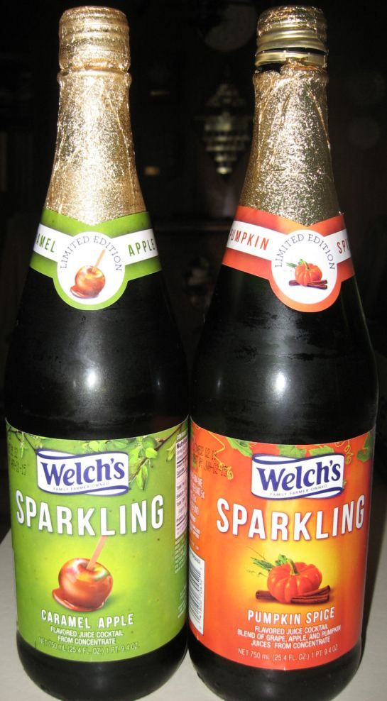 Welch's Sparkling Pumpkin Spice...sampled it at Kroger the