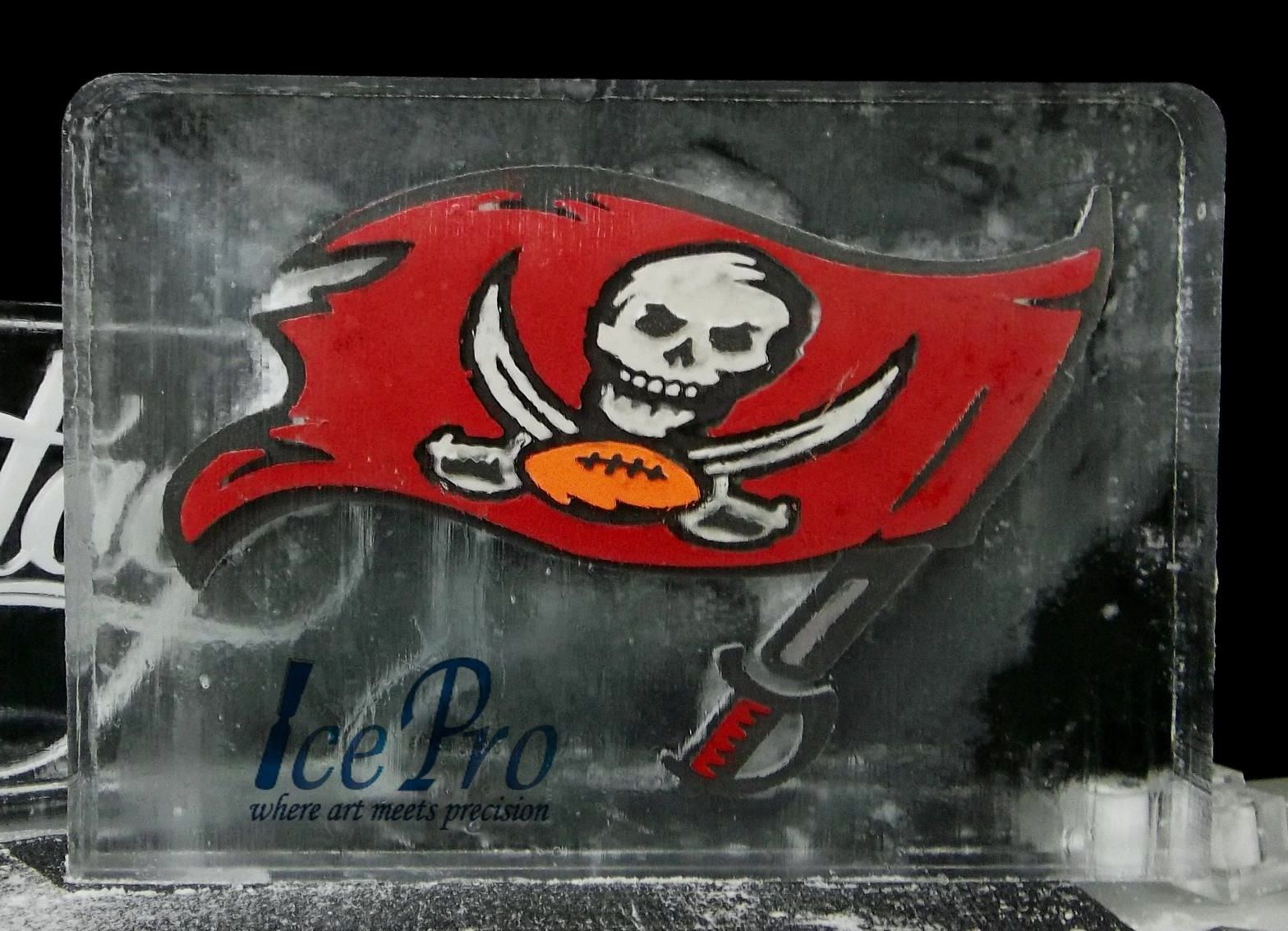Ice Sculpture For The Nfl S Tampa Bay Buccaneers