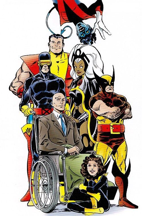 We are the heroes and the villains of our story- old school... These are the X-Men i was introduced too.We are the heroes and the villains of our story- old school... These are the X-Men i was introduced too.