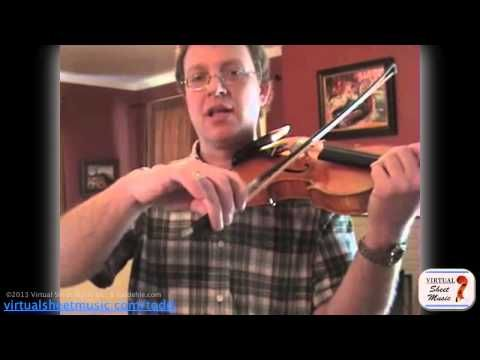 How to learn and play ricochet on the violin - Wohlfahrt's ...