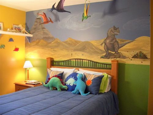 Beau Dinosaur Room , Perfect Wall Art For Cole.