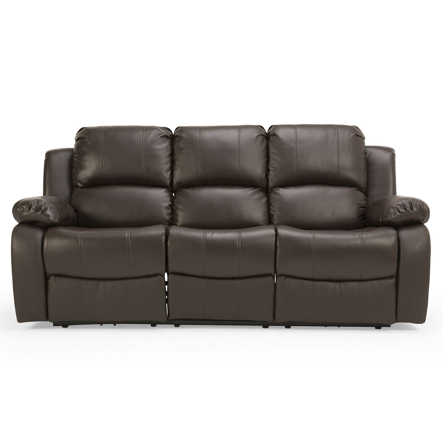 Cool Brown Leather Electric Recliner Sofa Magnificent Brown
