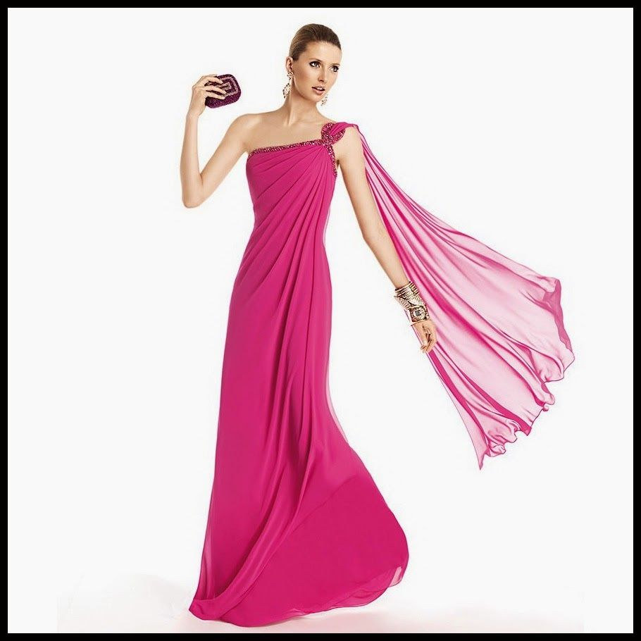 El nuevo color de la moda: Vestidos color rosado | working with ...