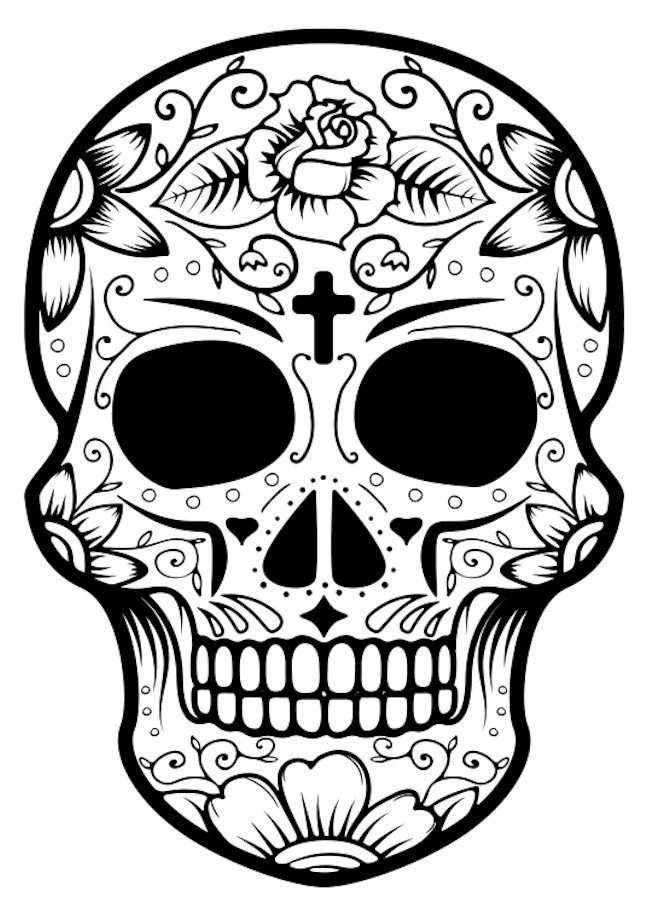 Image of Halloween Coloring Pages Halloween coloring