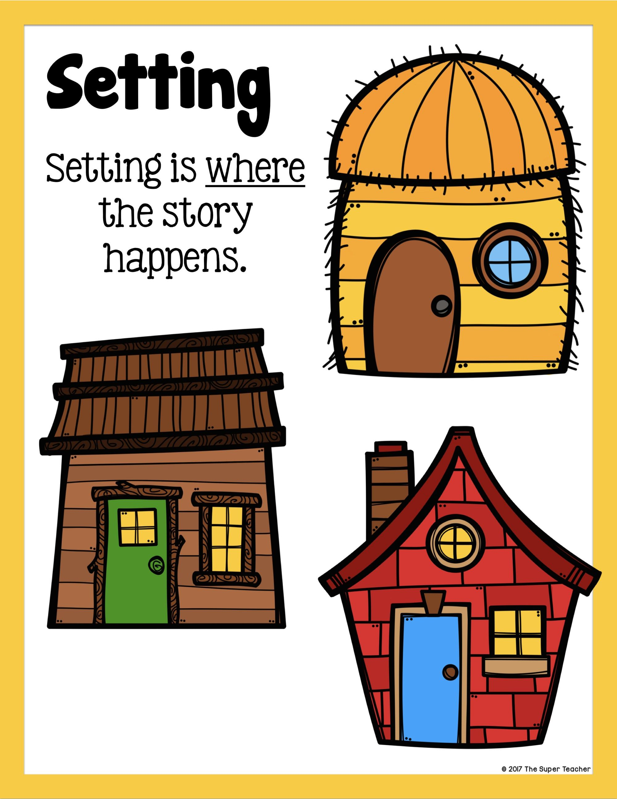 Simple Story Elements Made Practical And Fun Three Little Pigs Story Three Little Pigs Story Elements Kindergarten [ 2588 x 2000 Pixel ]