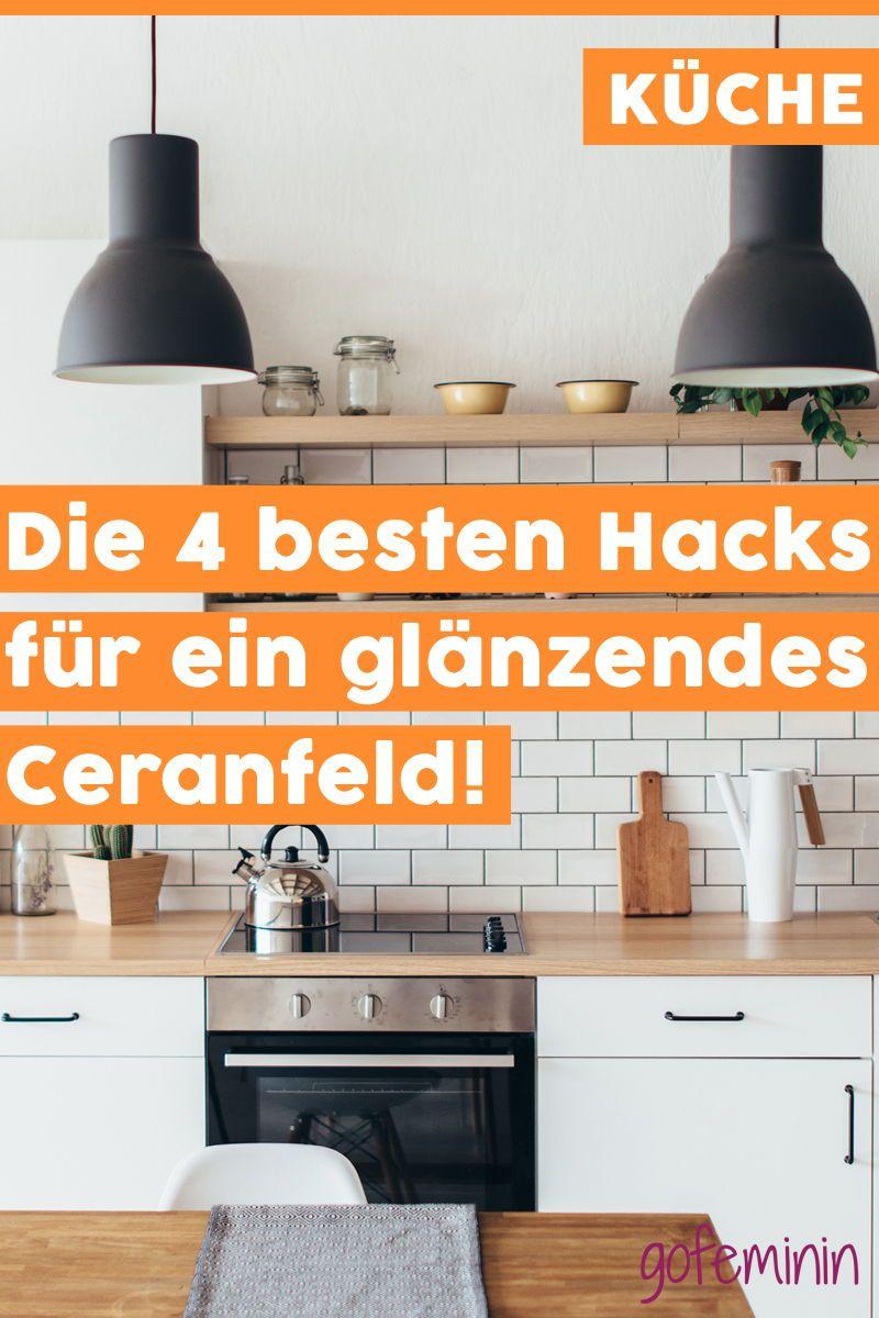 ceranfeld reinigen die besten hacks gegen flecken und eingebranntes einrichtung wohnen. Black Bedroom Furniture Sets. Home Design Ideas