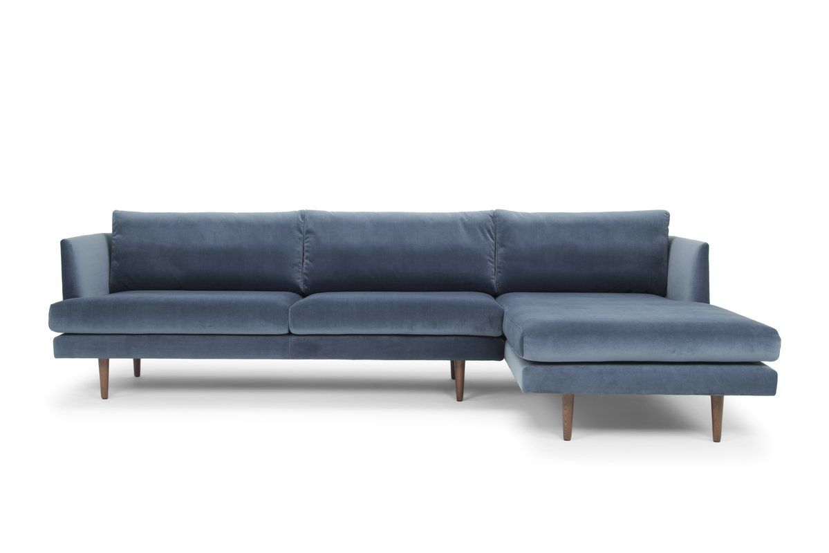 Busse Velvet Sectional Reviews Allmodern Sectional Sleeper Sofa Velvet Sectional Blue Sectional