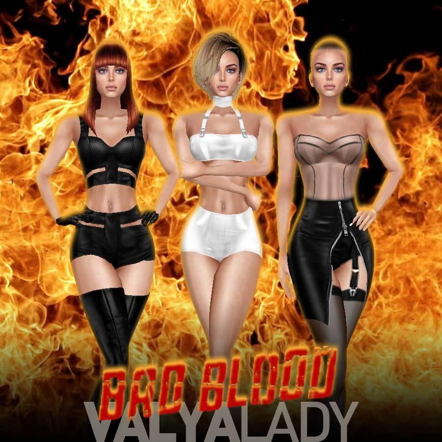 TAYLOR SWIFT | BAD BLOOD music video inspired outfits #taylorswift #badblood #imvu #sexy