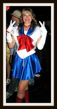 Homemade sailor moon costume