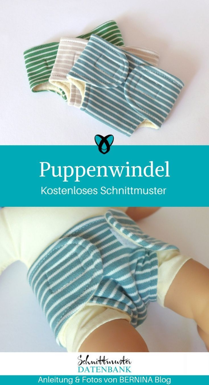 Puppenwindel - Baby Wear #cloth