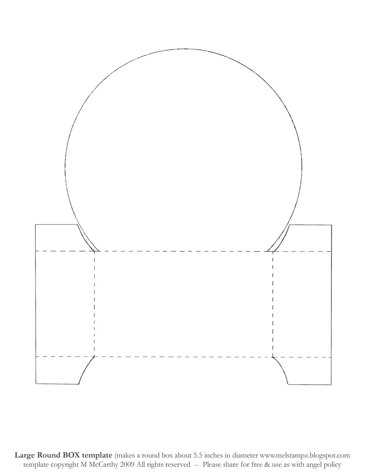 Bigcircleboxtemplateg Paper Craft Pinterest Embroidery