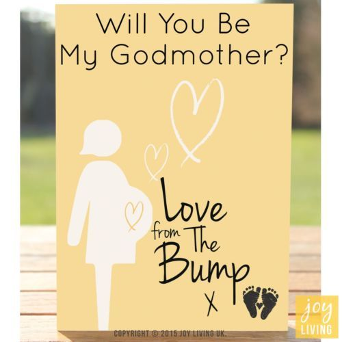 Love from the bump will you be my godmother greeting card love from the bump will you be my godmother greeting card pregnancy expe m4hsunfo