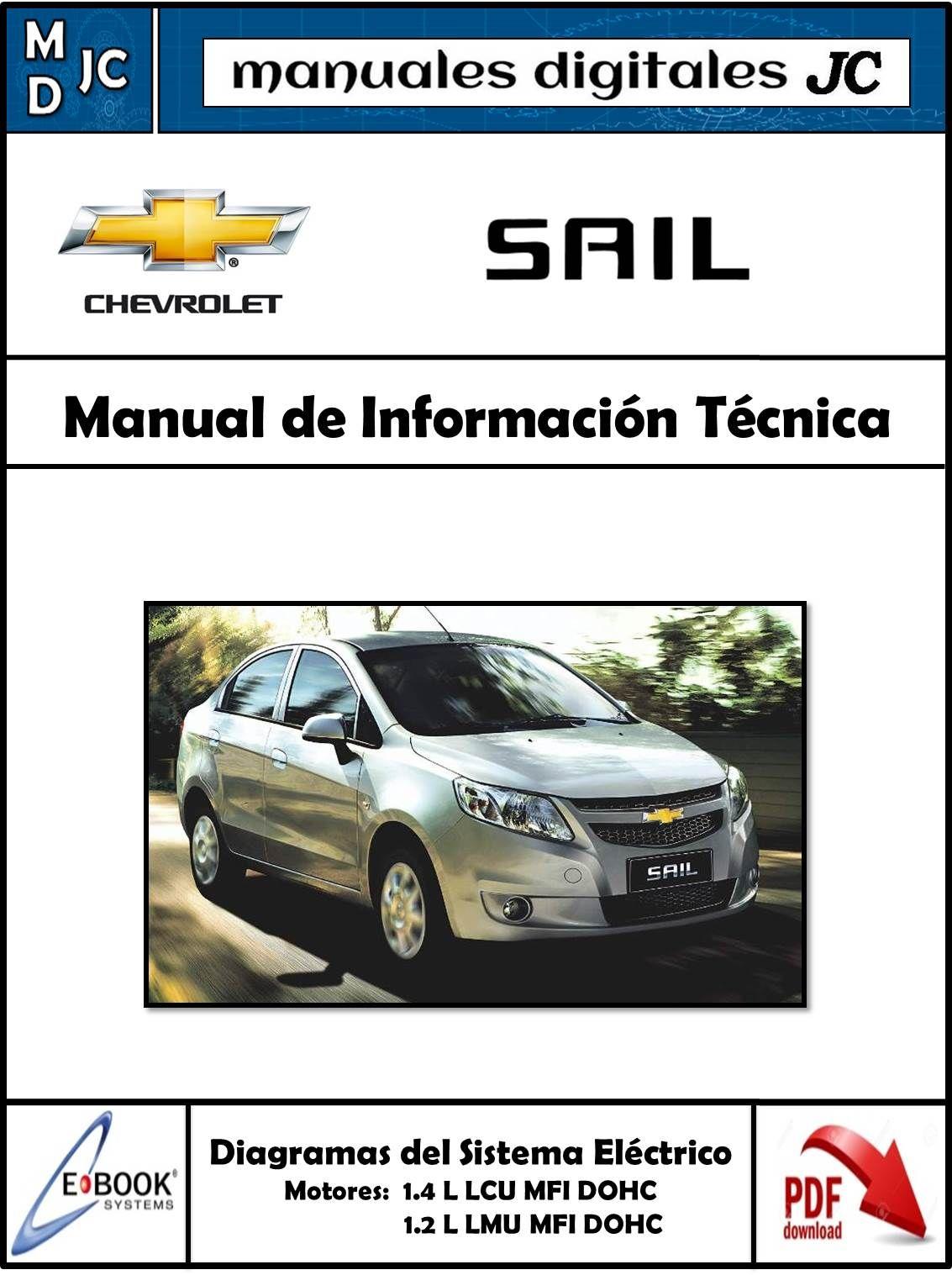 Manual De Informaci U00f3n T U00e9cnica        Chevrolet Sail 2009