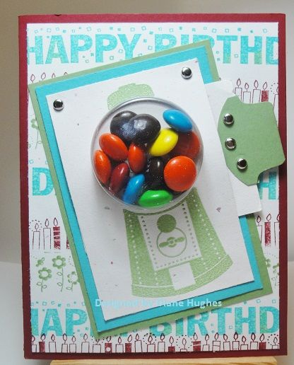 DH Gumball in Wasabi | Kids cards, Gumball, Paper crafts