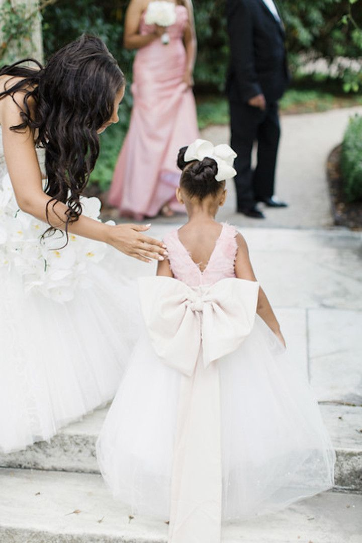 Fantasy Wedding Flower Dress