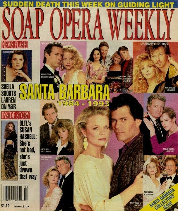 Santa Barbara Soap Opera Cast | SB Robert and Kelly,Warren