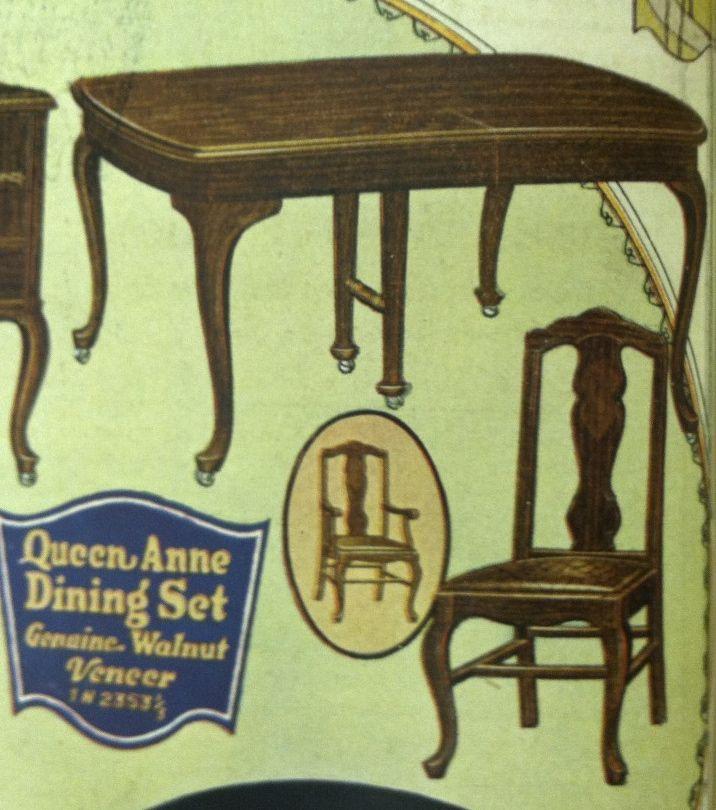 Sears Roebuck 1923 Table Dining Set Roebuck Home Decor Sears dining room sets sears
