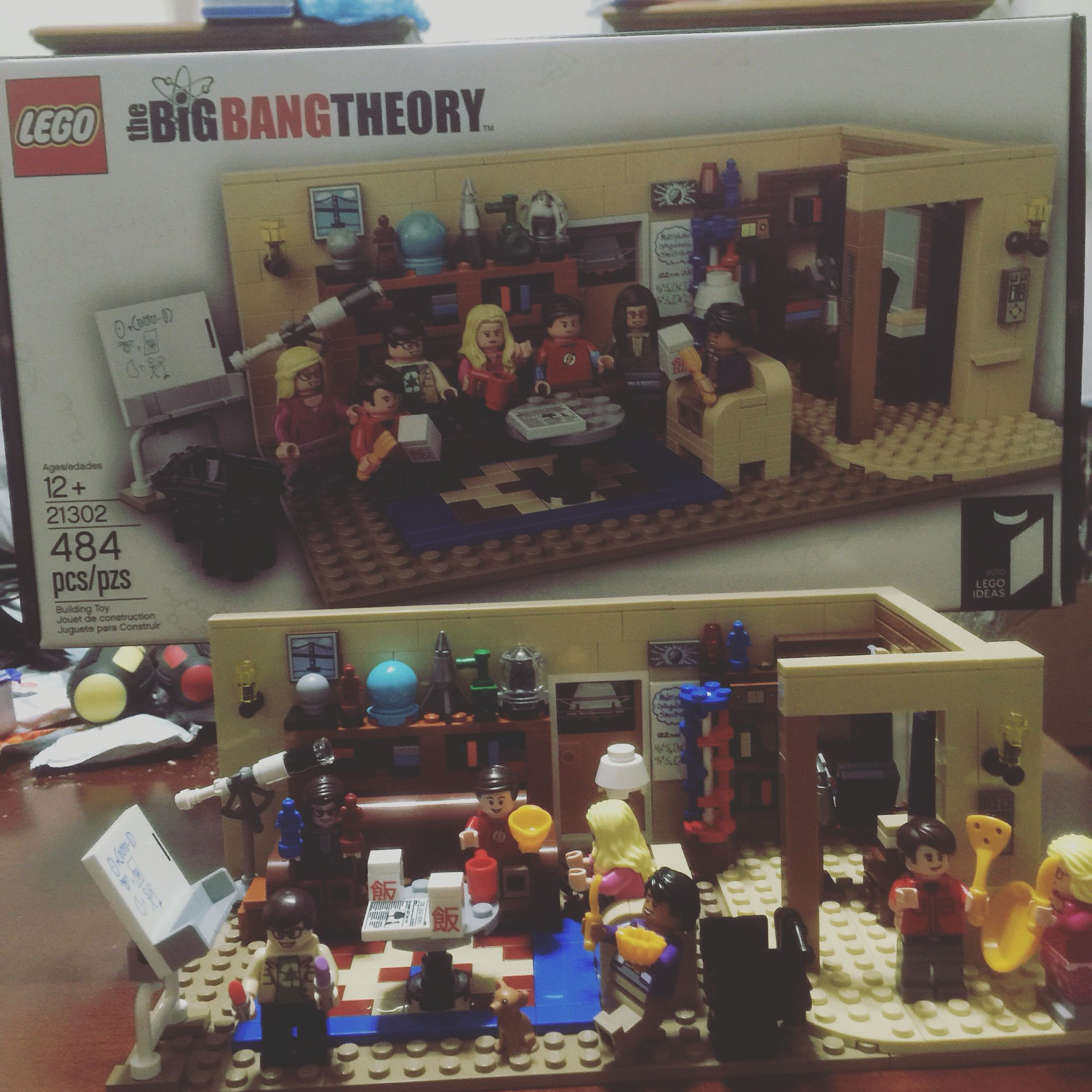 Big Bang theory Lego!!!!!!!  It was so cool to make!!!!