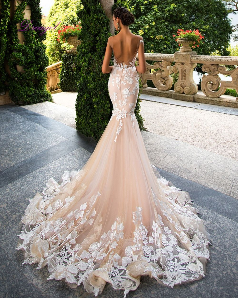 Photo of US $389.99 |Fmogl Sexy Backless Applique Mermaid Wedding Dresses 2019 New Arrival Embroidered Organza Court Train Vestido de Noiva Plus Size|vestido de noiva|vestido de noiva plusde noiva – AliExpress