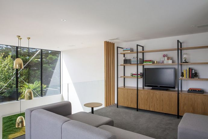 uitzicht woonkamer aanbouw | Huis zelfbouw | Pinterest