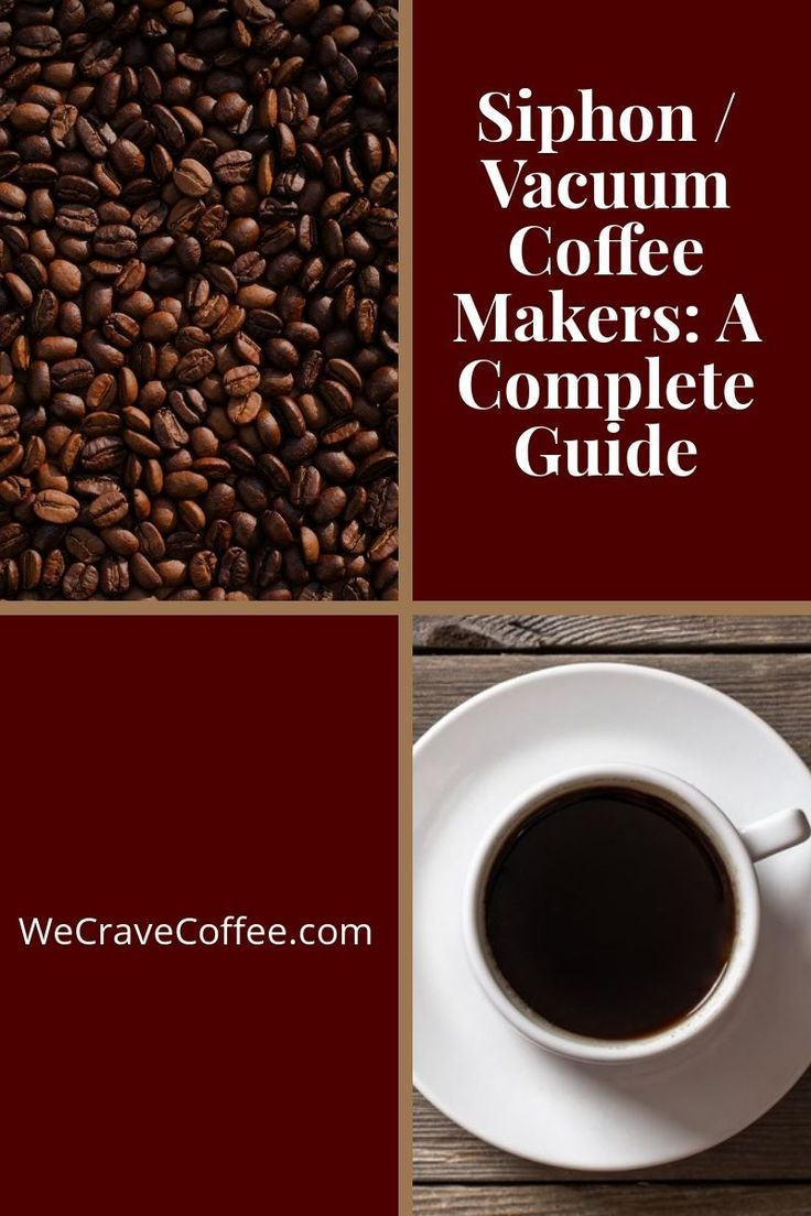 Siphon/Vacuum Coffee Makers A Complete Guide Coffee
