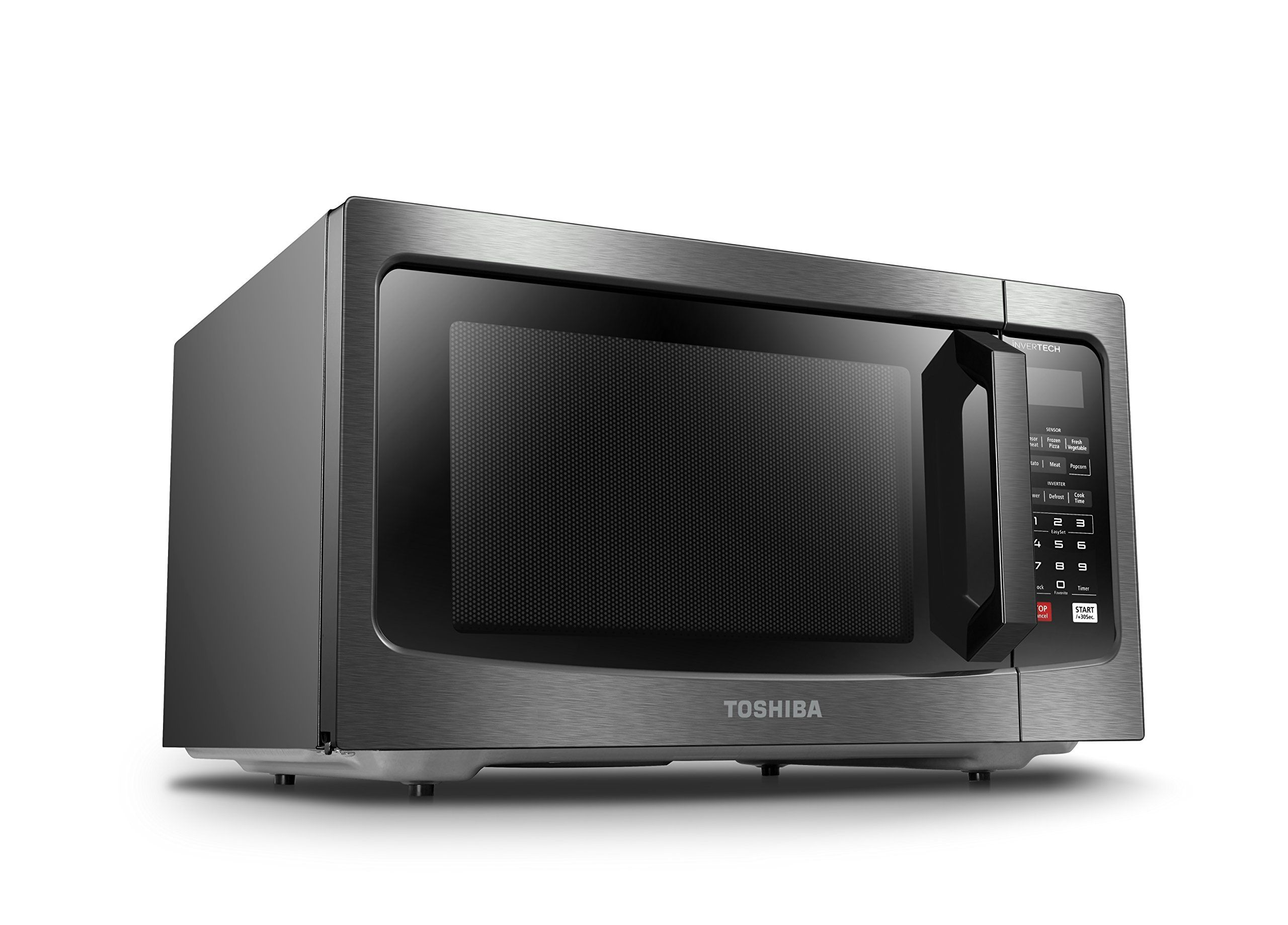 Toshiba Em245a5cbs Microwave Oven With Inverter Technology And
