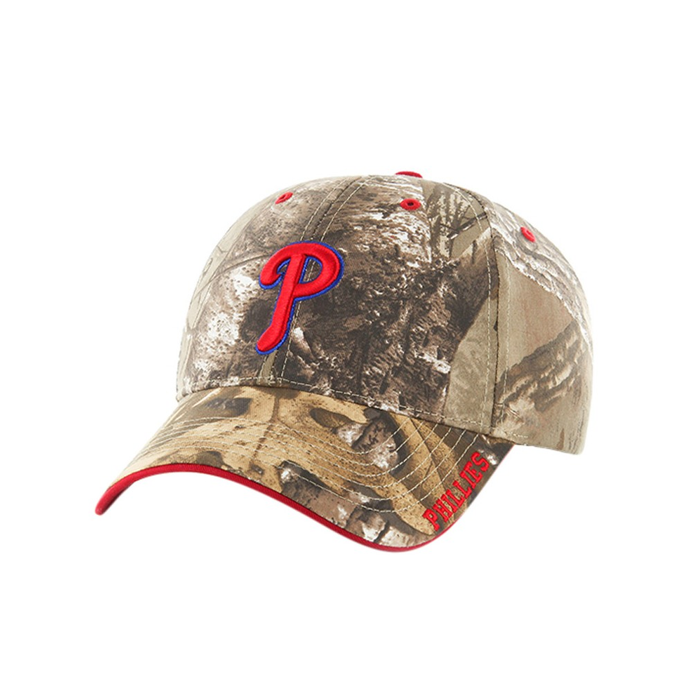 e0d1e992aa3 MLB Philadelphia Phillies Fan Favorite Realtree Hat